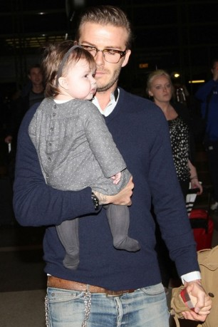 Yep.. Beckham doesnt go without his button down shirts.