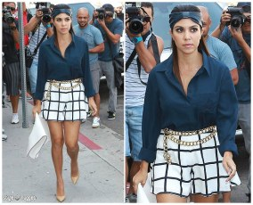 I wish I knew what shes wearing but the outfit is so perfect! All I could find was the bag - Tom Ford.