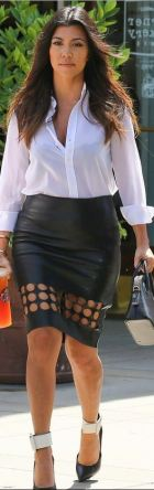 YSL shoes, Kelly Wearstler skirt, Celine purse